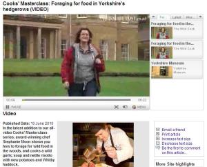 Steph Moon goes food foraging at Rudding Park