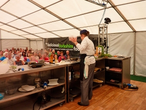 Rudding Park's Stephanie Moon at Leeds Foodies Festival