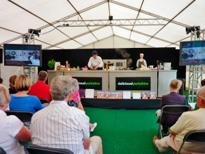 Rudding Park's Stephanie Moon at Foodies Festival