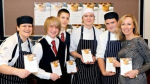 Steph Moon catered for the event with help from Leeds City College Students - they are now all experts in making the perfect Yorkshire Pudding!