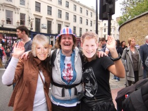 Me with Camilla and Prince Harry!