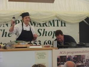 Womersley blackberry vinegar- Nigel gets cooking!