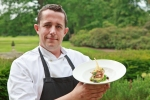 Rudding Park's Paul Mackie with his pigeon dish