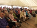 The audience enjoyed the game cookery -3 days Great Yorkshire Show 2011