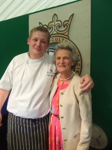Ethnie Bannister and Chris Oakden from Coniston Hotel, Skipton