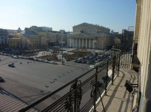 view from my balcony Bolshoi Theatre