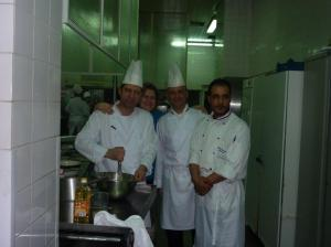 The team in action! at The Hotel Metropol