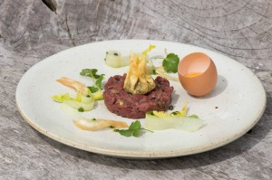 Steph's Venison steak tartar